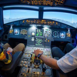 Letecký simulátor Airbus A320 Praha
