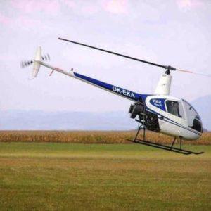 Adrenalinový let vrtulníkem