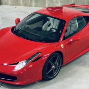 Jízda ve Ferrari 458 Italia v Čechách Praha