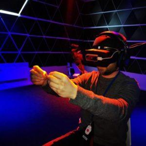 Úniková hra Cosmos ve virtuální realitě Praha