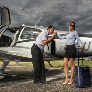 Vyhlídkový let luxusním letadlem Praha