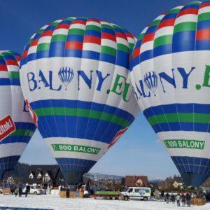 Vyhlídkový let balónem nad Tatrami Zahraničí
