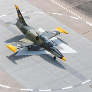 Let stíhačkou L-39 Albatros