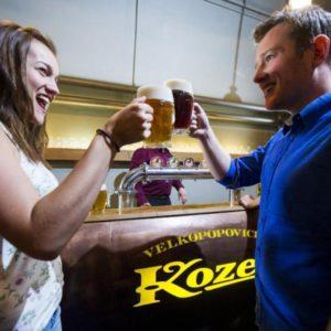 Prohlídka pivovaru Velké Popovice s ochutnávkou