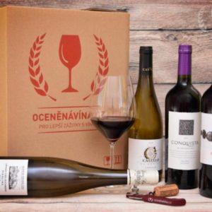 Zážitkové předplatné až 18 lahví vína Celá ČR
