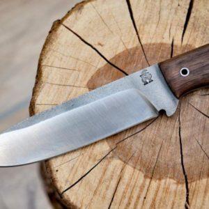 Ručně kovaný nůž Bushcraft Celá ČR