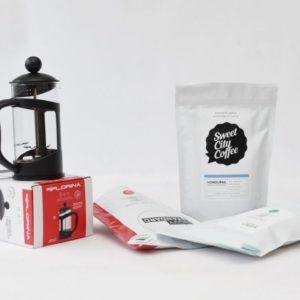 Dárkový set pro přípravu kávy Celá ČR