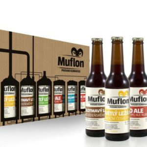 Degustační set piva Muflon – 6× 0