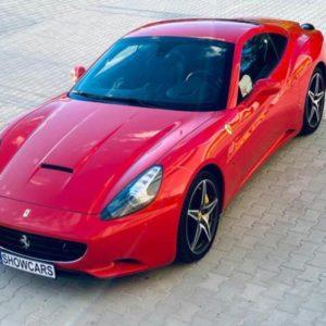 Jízda ve Ferrari F149 California Praha