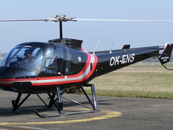 Vyhlídkový let proudovým vrtulníkem Enstrom