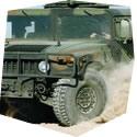 Projížďka v terénním vojenském HUMVEE