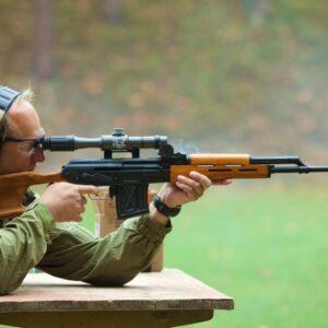 Střelba na venkovní střelnici Vysočina